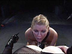 Lesdom Butt licking 01